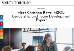 Interview in Shoutout Colorado